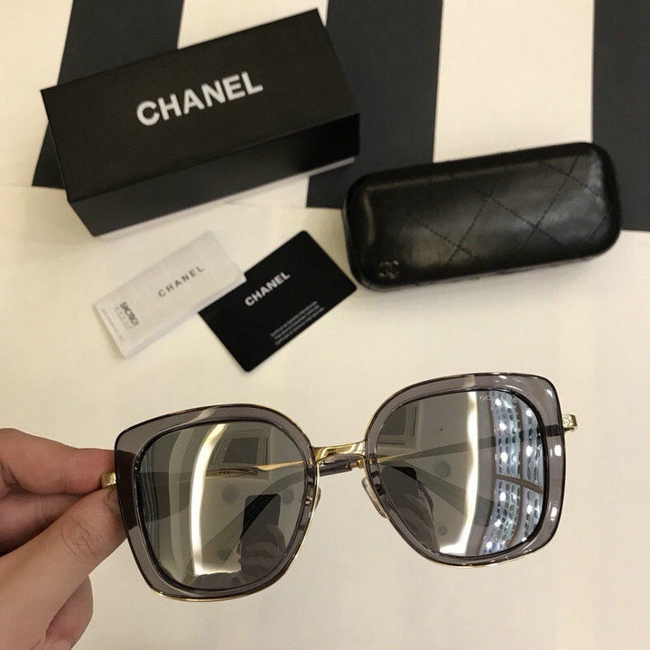 Chanel Newest Fashion Sunglasses Top Quality CC0218