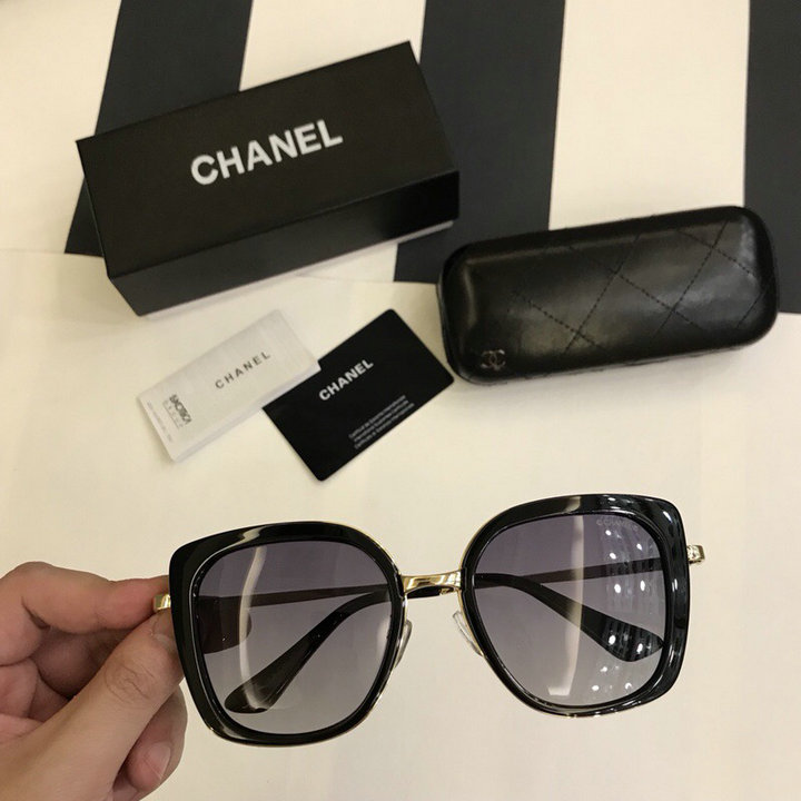 Chanel Newest Fashion Sunglasses Top Quality CC0220