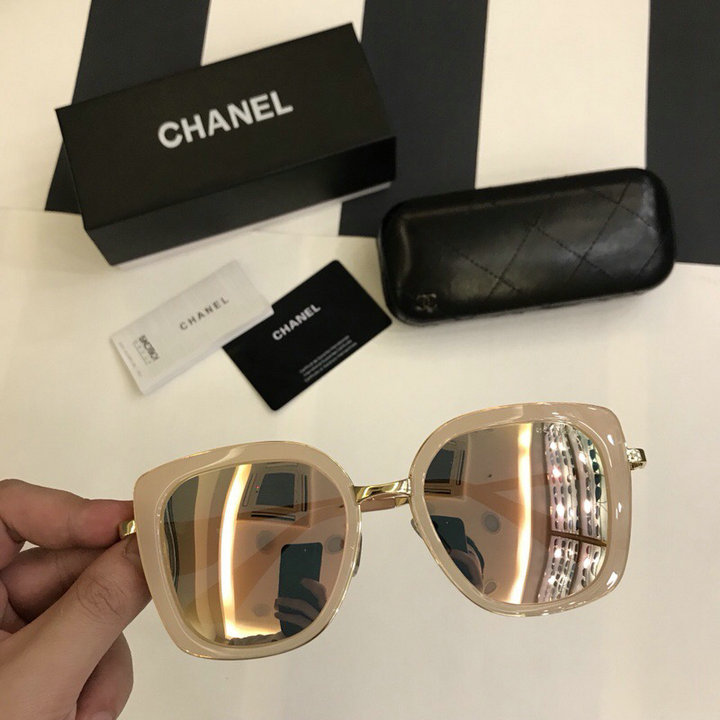 Chanel Newest Fashion Sunglasses Top Quality CC0221