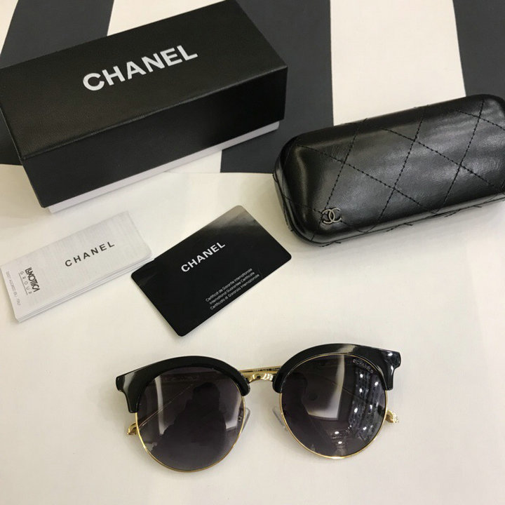 Chanel Newest Fashion Sunglasses Top Quality CC0225