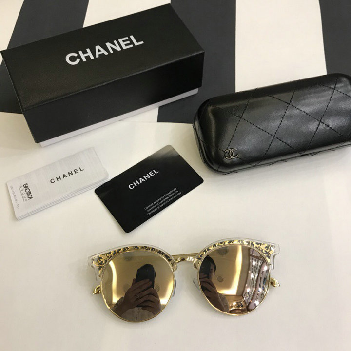 Chanel Newest Fashion Sunglasses Top Quality CC0226