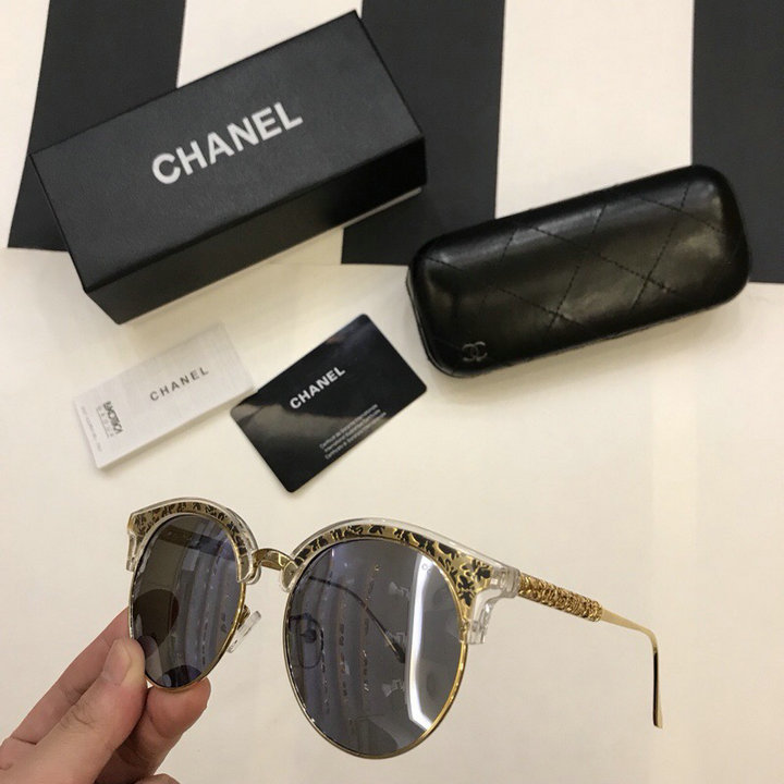 Chanel Newest Fashion Sunglasses Top Quality CC0227
