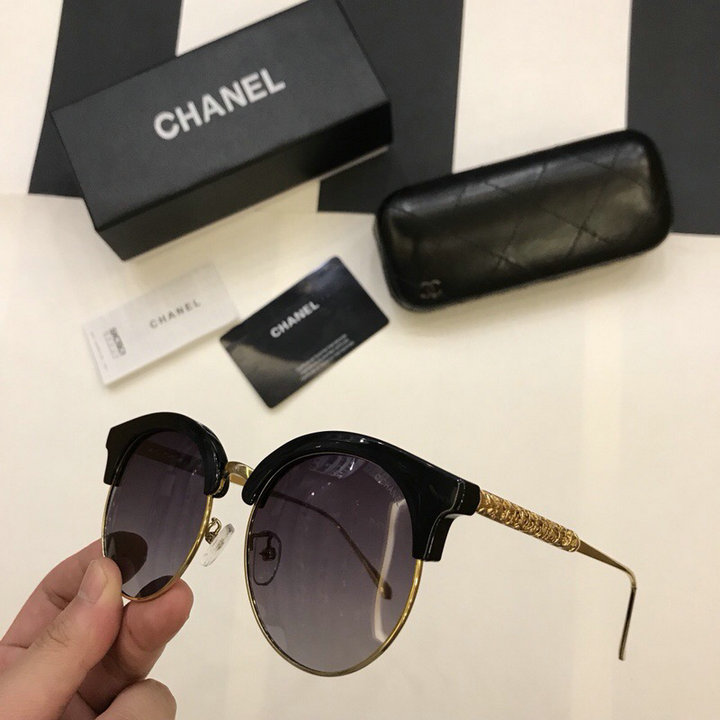 Chanel Newest Fashion Sunglasses Top Quality CC0228