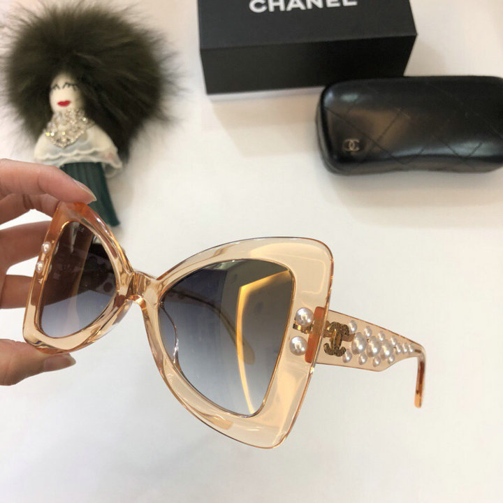 Chanel Newest Fashion Sunglasses Top Quality CC0234