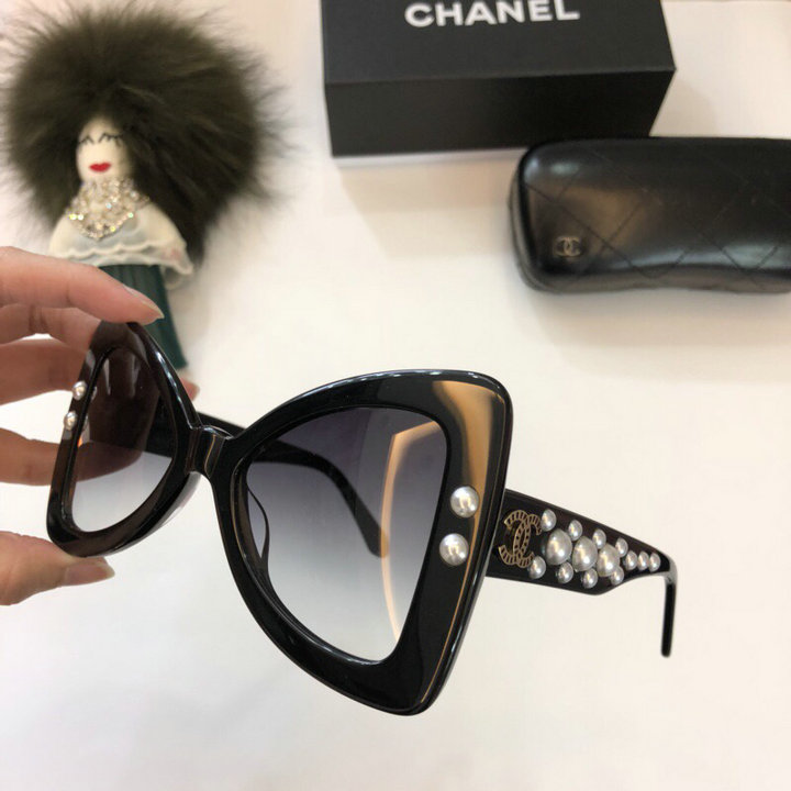 Chanel Newest Fashion Sunglasses Top Quality CC0235