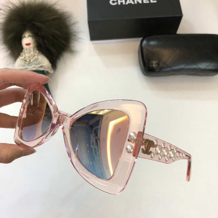 Chanel Newest Fashion Sunglasses Top Quality CC0236
