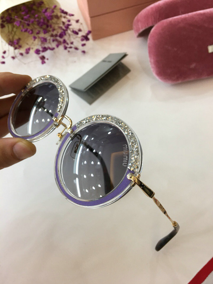 MiuMiu Newest Fashion Sunglasses Top Quality MM0007