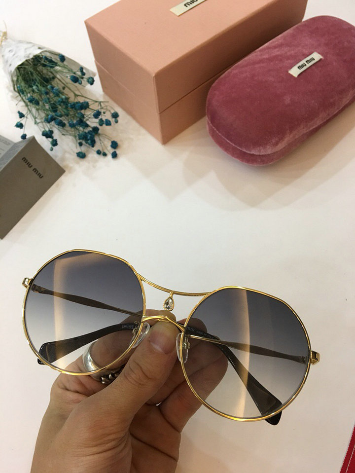 MiuMiu Newest Fashion Sunglasses Top Quality MM0008