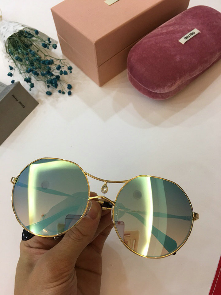 MiuMiu Newest Fashion Sunglasses Top Quality MM0009
