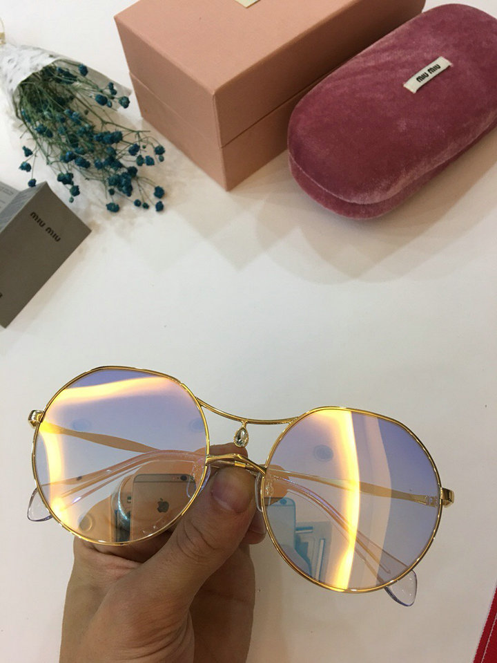MiuMiu Newest Fashion Sunglasses Top Quality MM0010