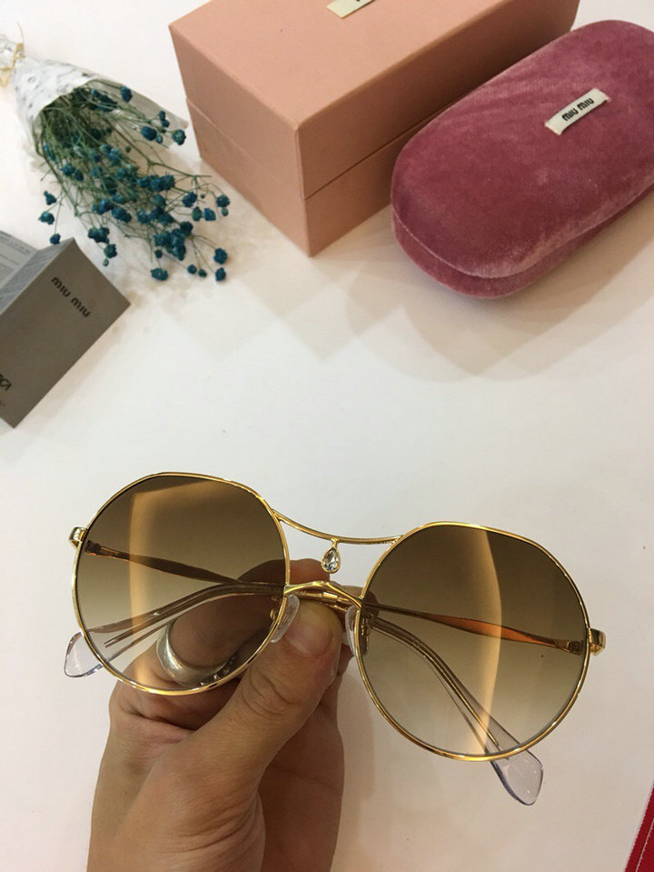 MiuMiu Newest Fashion Sunglasses Top Quality MM0012