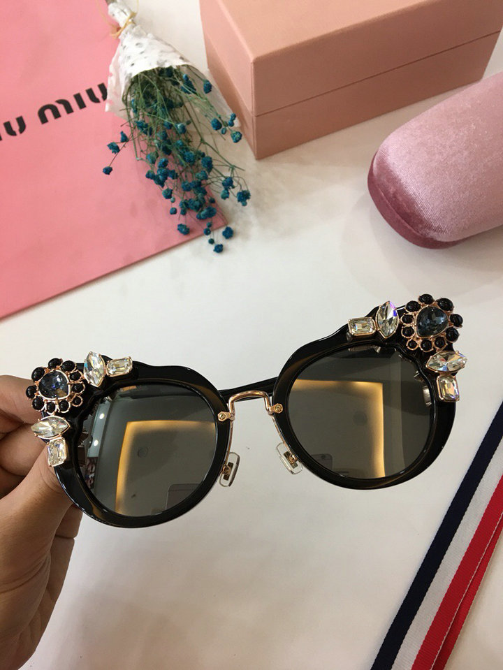 MiuMiu Newest Fashion Sunglasses Top Quality MM0014