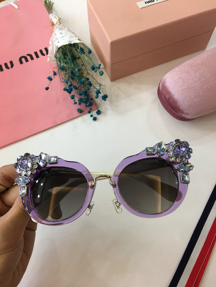 MiuMiu Newest Fashion Sunglasses Top Quality MM0016