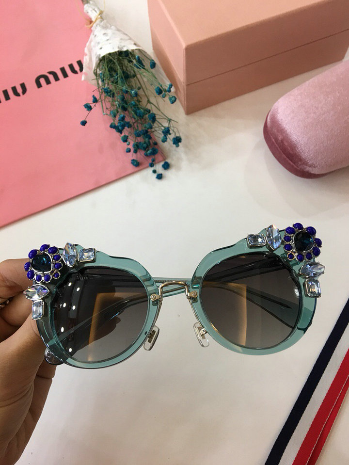MiuMiu Newest Fashion Sunglasses Top Quality MM0017