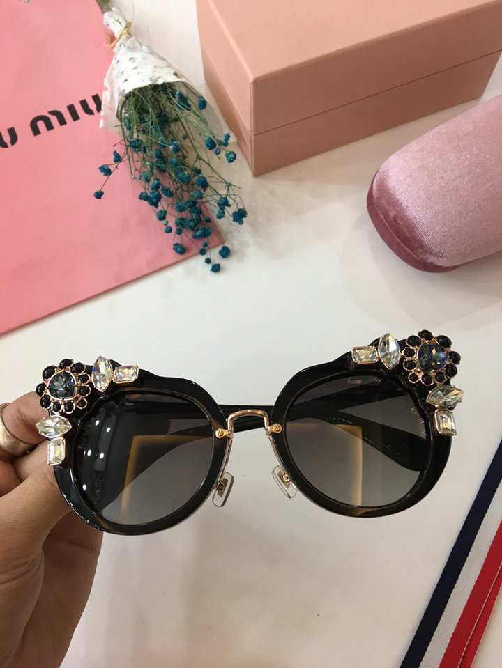 MiuMiu Newest Fashion Sunglasses Top Quality MM0018