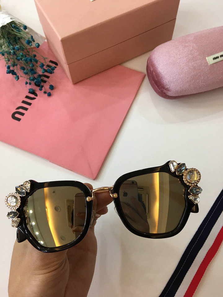 MiuMiu Newest Fashion Sunglasses Top Quality MM0021