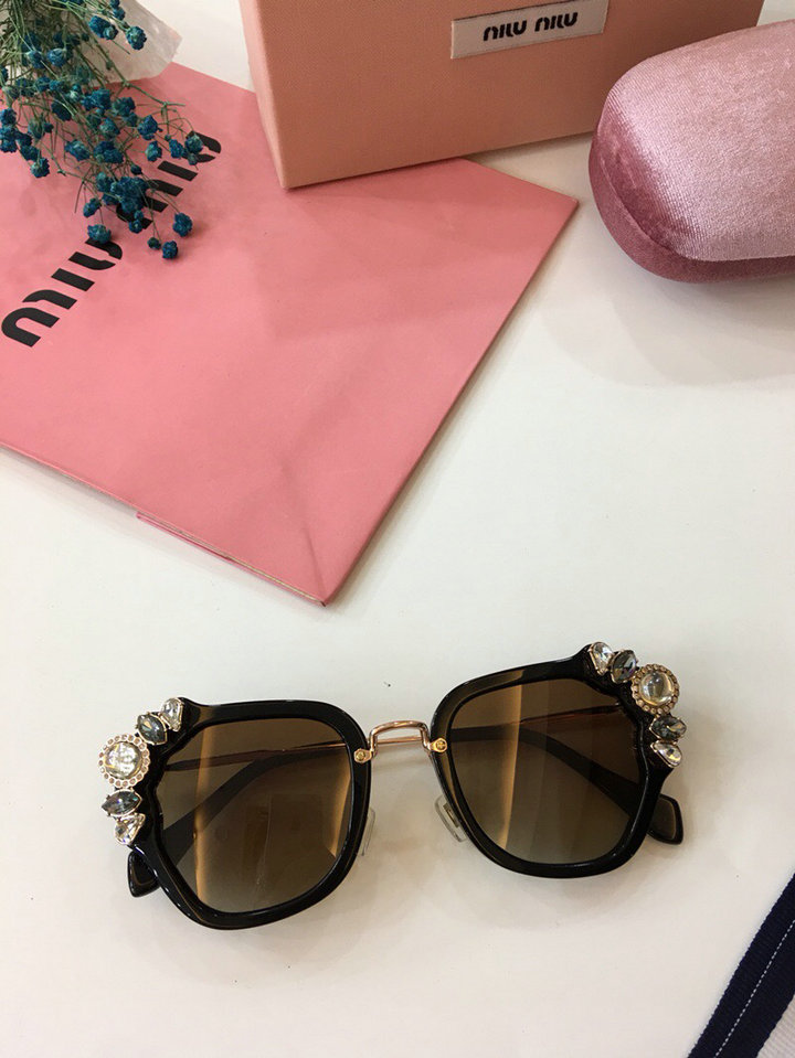MiuMiu Newest Fashion Sunglasses Top Quality MM0023