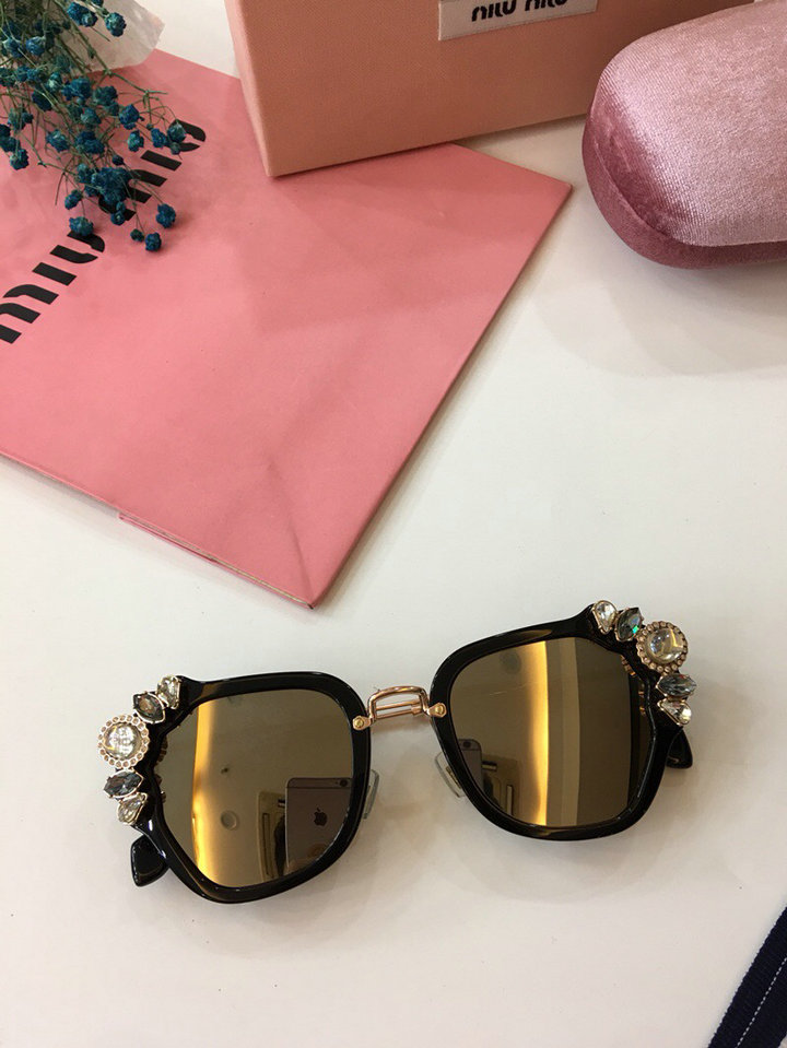 MiuMiu Newest Fashion Sunglasses Top Quality MM0025