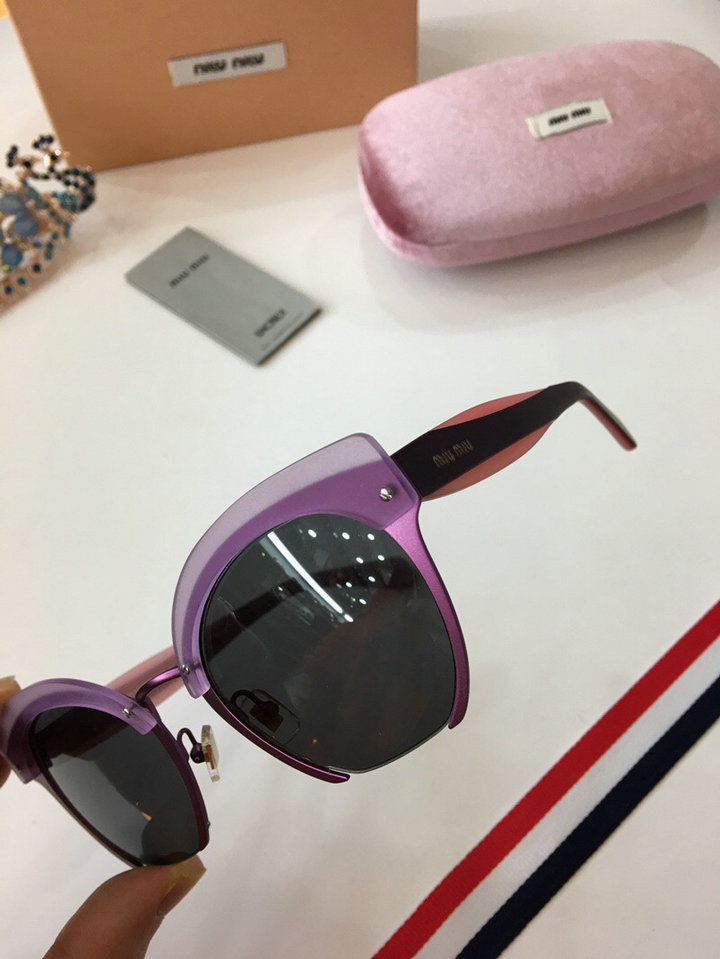 MiuMiu Newest Fashion Sunglasses Top Quality MM0027
