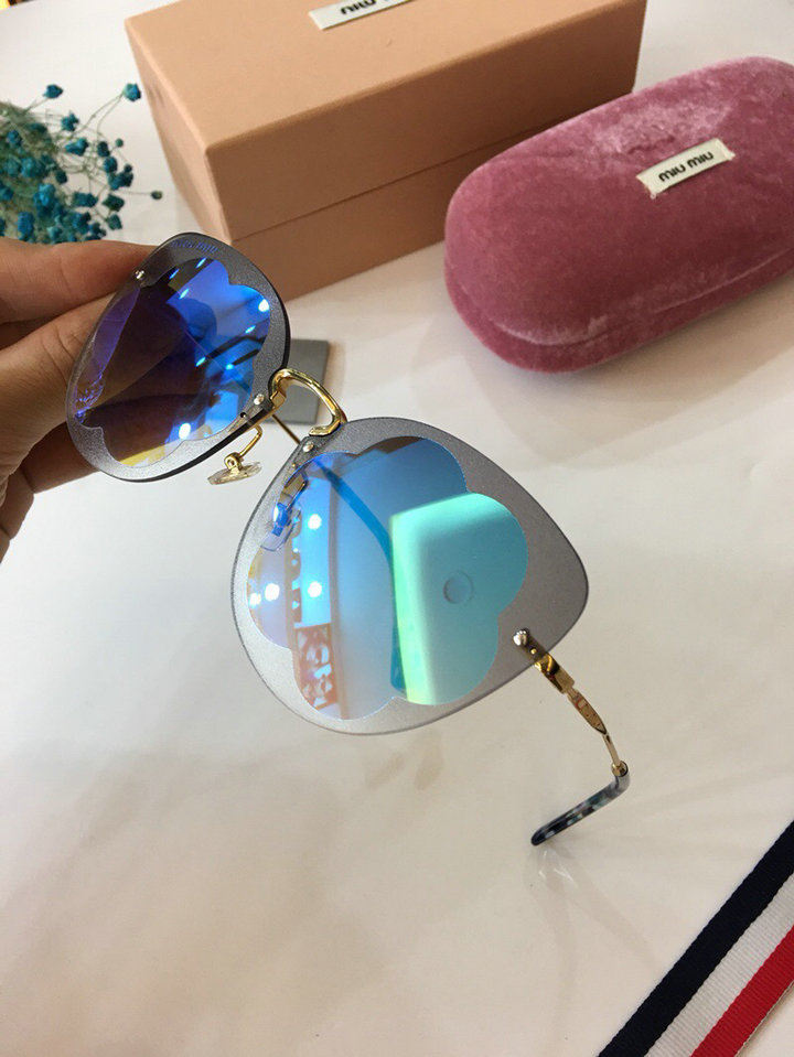MiuMiu Newest Fashion Sunglasses Top Quality MM0034