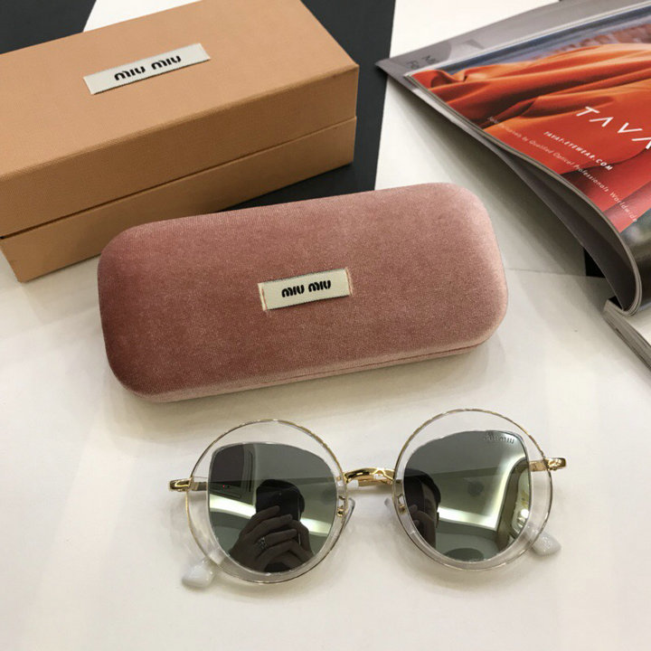 MiuMiu Newest Fashion Sunglasses Top Quality MM0037