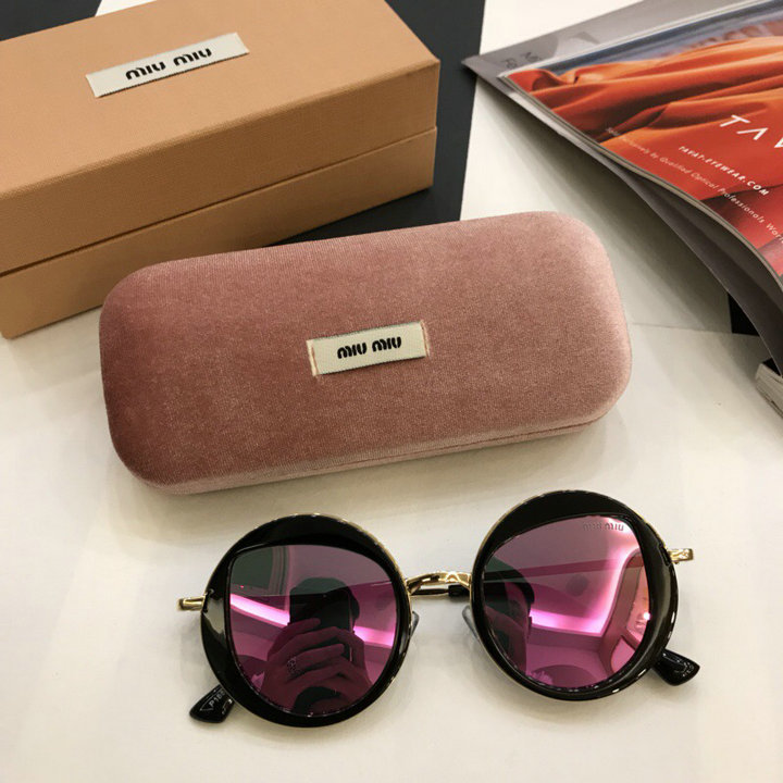 MiuMiu Newest Fashion Sunglasses Top Quality MM0038