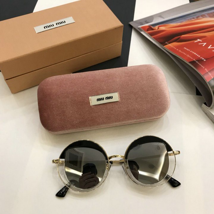 MiuMiu Newest Fashion Sunglasses Top Quality MM0039