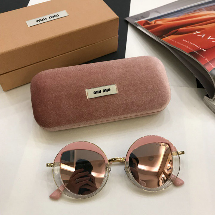 MiuMiu Newest Fashion Sunglasses Top Quality MM0040