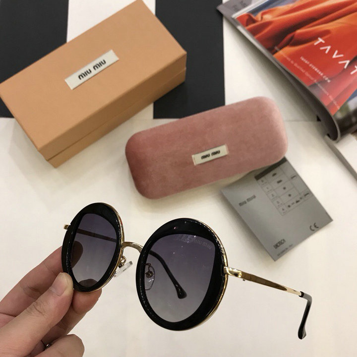 MiuMiu Newest Fashion Sunglasses Top Quality MM0042