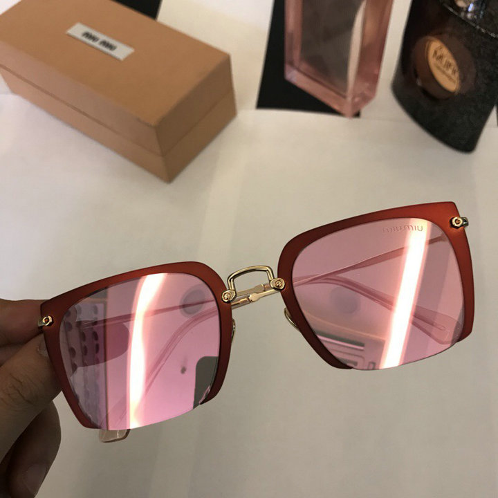 MiuMiu Newest Fashion Sunglasses Top Quality MM0043