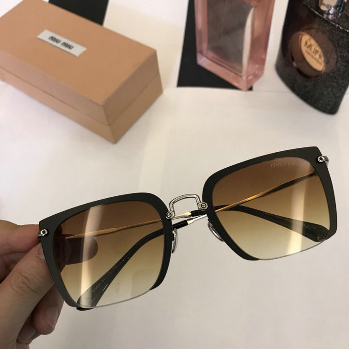 MiuMiu Newest Fashion Sunglasses Top Quality MM0048