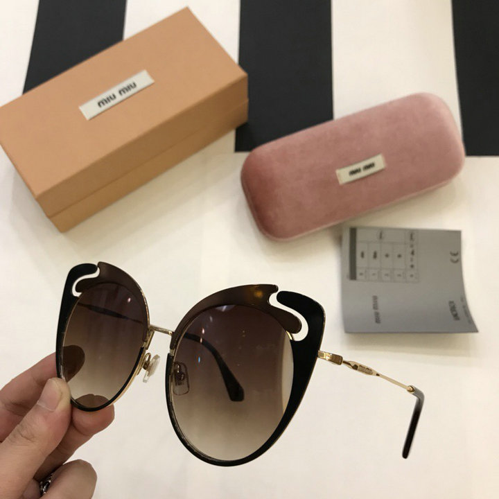 MiuMiu Newest Fashion Sunglasses Top Quality MM0049