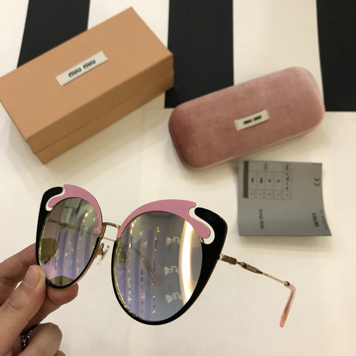 MiuMiu Newest Fashion Sunglasses Top Quality MM0050