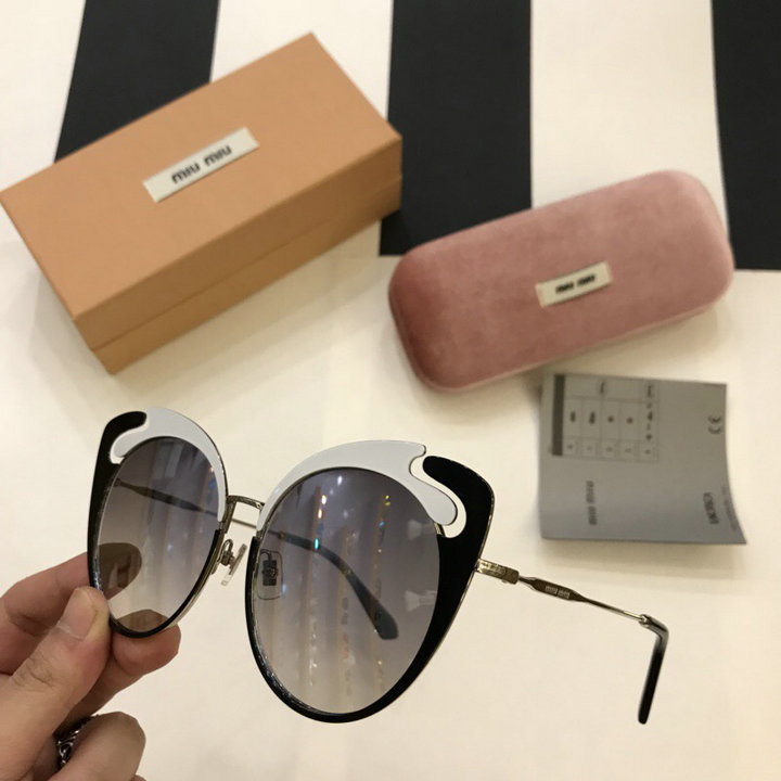 MiuMiu Newest Fashion Sunglasses Top Quality MM0052