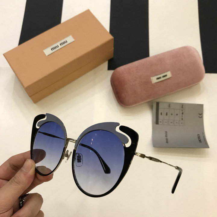 MiuMiu Newest Fashion Sunglasses Top Quality MM0053