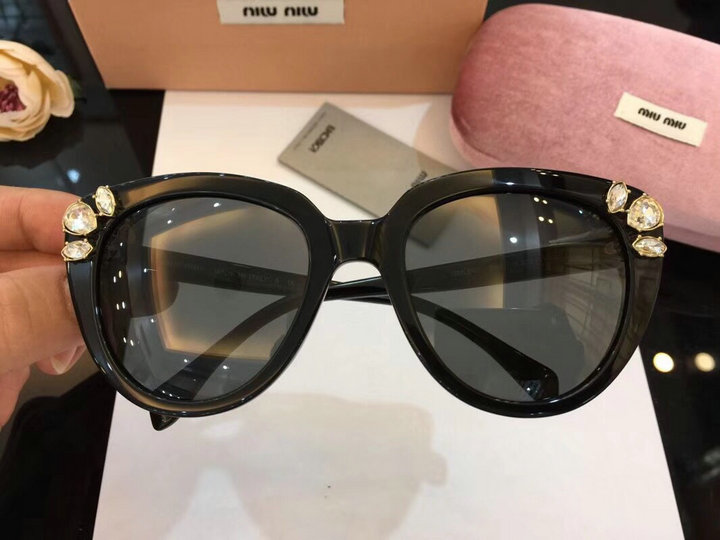 MiuMiu Newest Fashion Sunglasses Top Quality MM0054