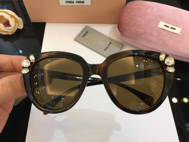 MiuMiu Newest Fashion Sunglasses Top Quality MM0055