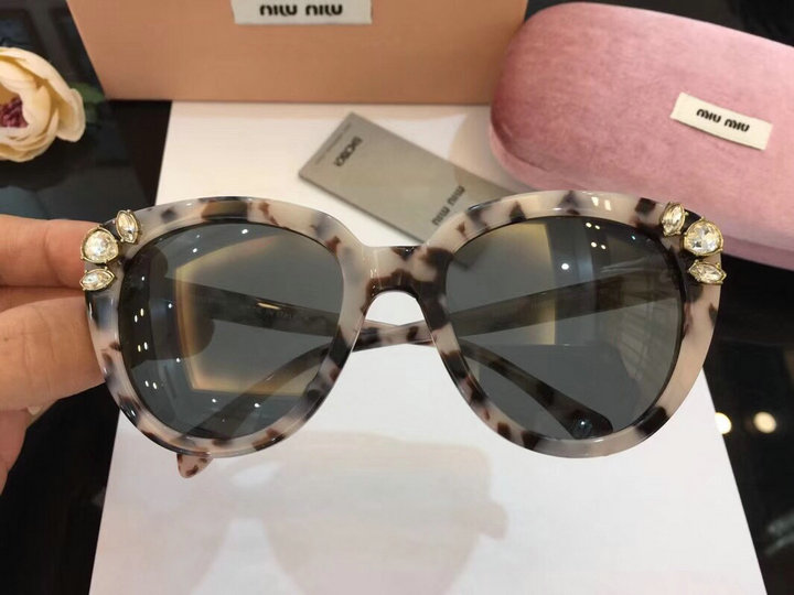 MiuMiu Newest Fashion Sunglasses Top Quality MM0056