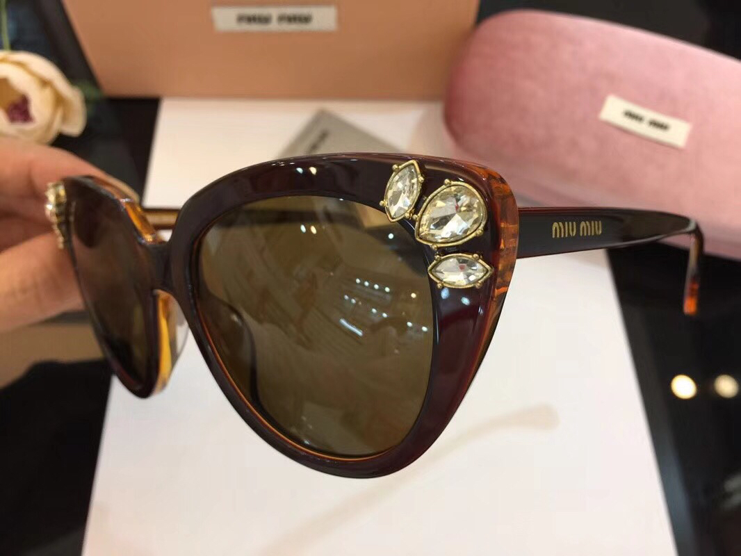 MiuMiu Newest Fashion Sunglasses Top Quality MM0057