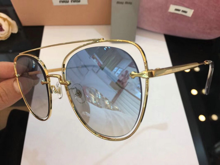 MiuMiu Newest Fashion Sunglasses Top Quality MM0058
