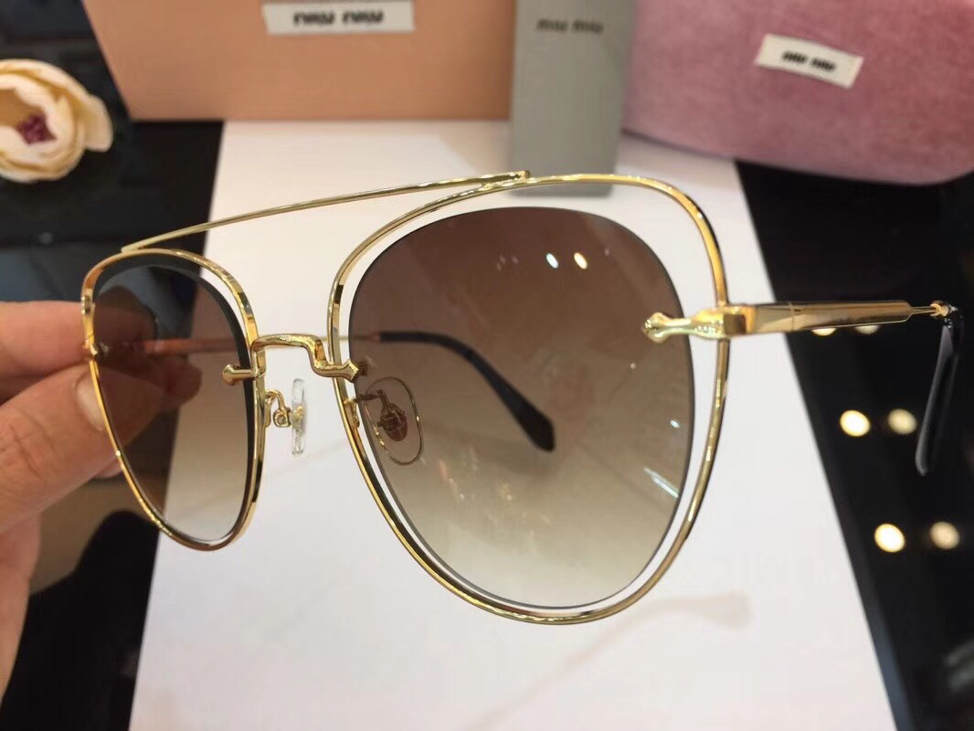 MiuMiu Newest Fashion Sunglasses Top Quality MM0059