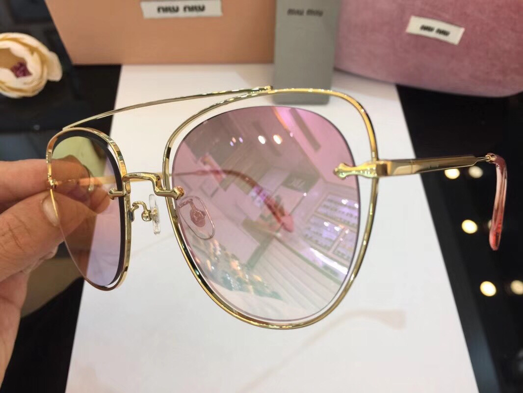 MiuMiu Newest Fashion Sunglasses Top Quality MM0060