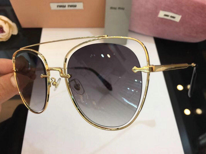 MiuMiu Newest Fashion Sunglasses Top Quality MM0061