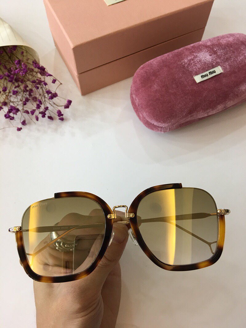 MiuMiu Newest Fashion Sunglasses Top Quality MM0064