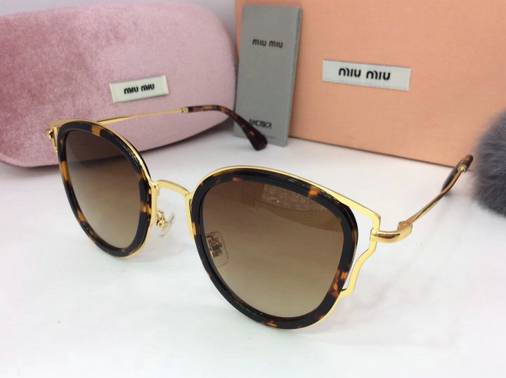 MiuMiu Newest Fashion Sunglasses Top Quality MM0083