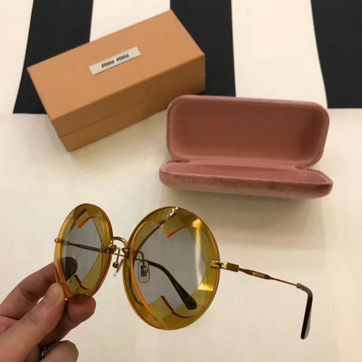 MiuMiu Newest Fashion Sunglasses Top Quality MM0090