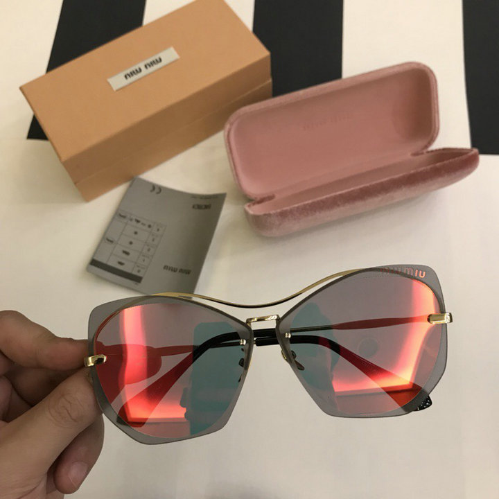 MiuMiu Newest Fashion Sunglasses Top Quality MM0113