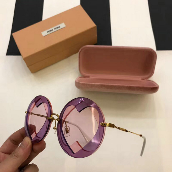 MiuMiu Newest Fashion Sunglasses Top Quality MM0091