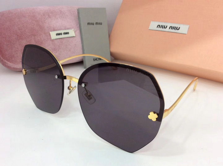 MiuMiu Newest Fashion Sunglasses Top Quality MM0093