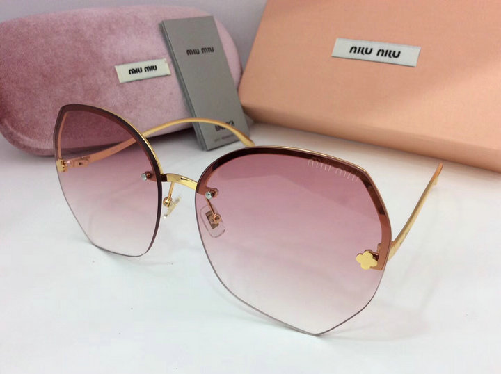 MiuMiu Newest Fashion Sunglasses Top Quality MM0095